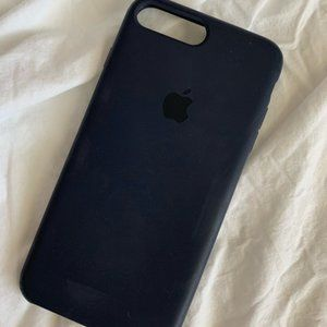 NAVY BLUE IPHONE APPLE CASE